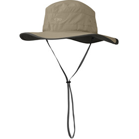 Outdoor Research Solar Roller Cappello da sole Donna, khaki/dark grey